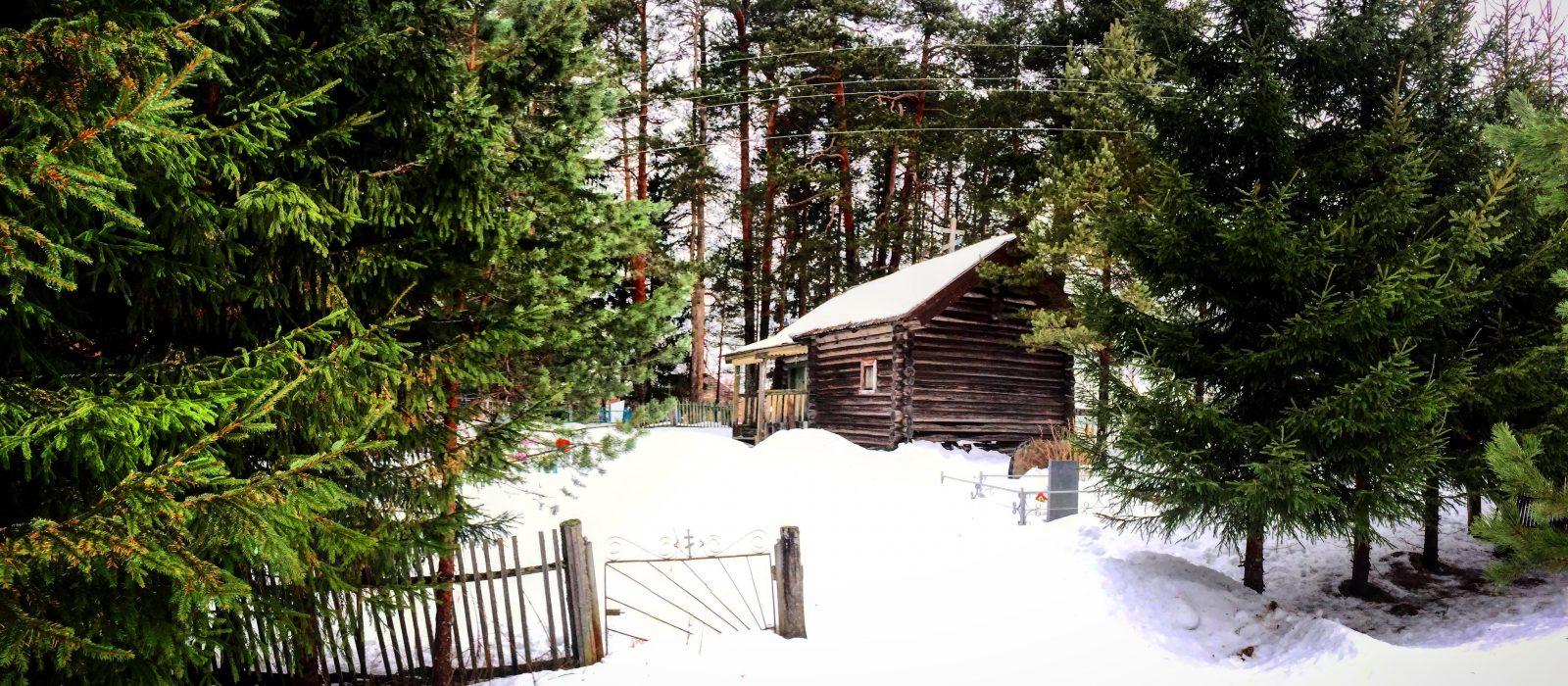 Карельская деревня Рубчойла